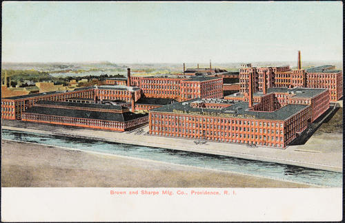 Brown & Sharpe Mfg. Co. Providence, R.I.