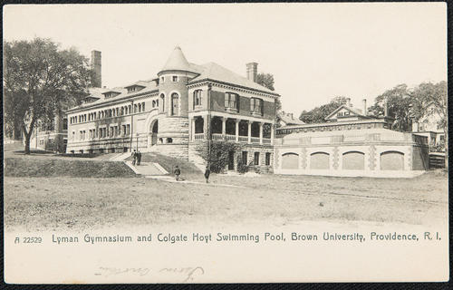 Lyman Gymnasium and Colgate Hoyt Swimming Pool, Brown University, Providence, R.I.