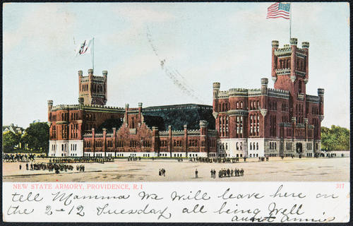 New State Armory, Providence, R.I.