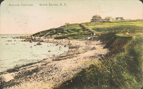 Private Cottages.  Block Island, R.I.