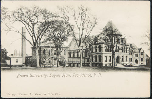 Brown University, Sayles Hall, Providence, R.I.