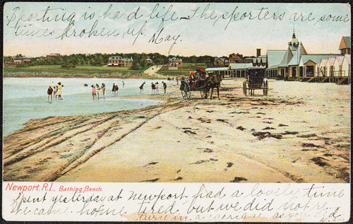 Newport, R.I. bathing beach