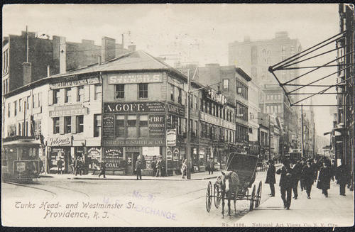 Turks Head and Westminster St. Providence, R.I.