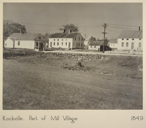 Rockville. Part of Mill Village 1849