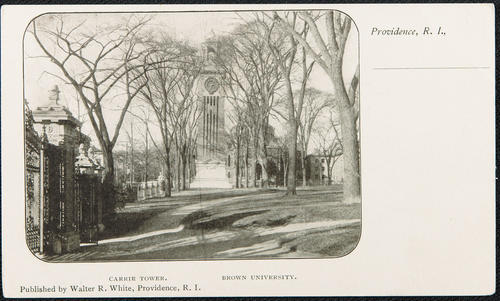 Carrie Tower. Brown University. Providence, R.I.