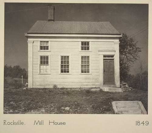 Rockville. Mill House 1849