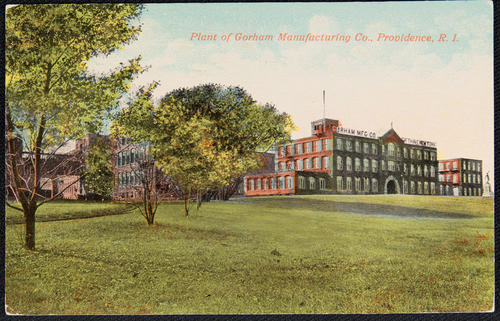 Plant of Gorham Manufacturing Co. Providence, R.I.