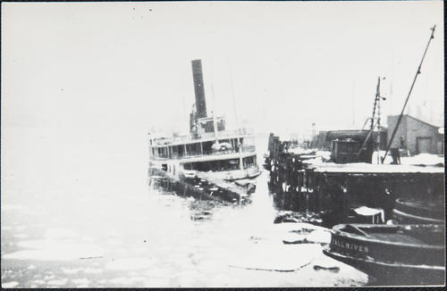 [unidentified steamboat, foundered]