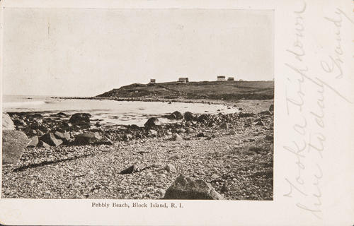 Pebbly Beach, Block Island, R.I.