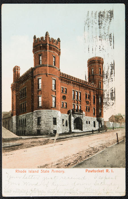 Rhode Island State Armory, Pawtucket, R.I.