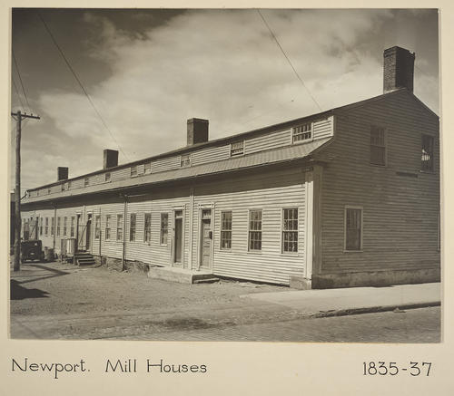 Newport. Mill Houses 1835-37