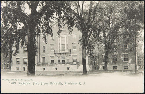 Rockefeller Hall, Brown University, Providence, R.I.