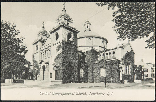 Central Congregational Church, Providence, R.I.