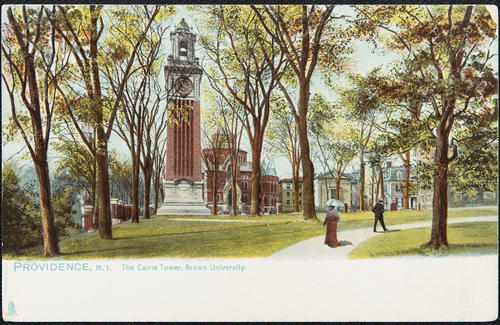 Providence, R.I. The Carrie Tower, Brown University