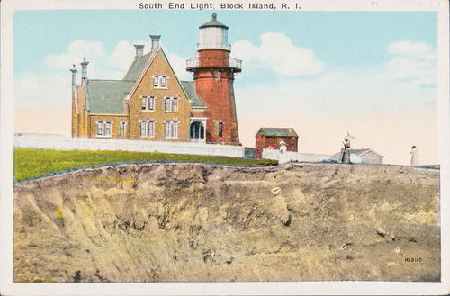 South End Light, Block Island, R.I.