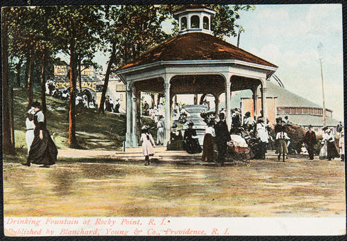 Drinking Fountain at Rocky Point, R.I.