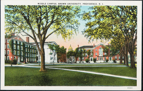 Middle Campus, Brown University, Providence, R.I.