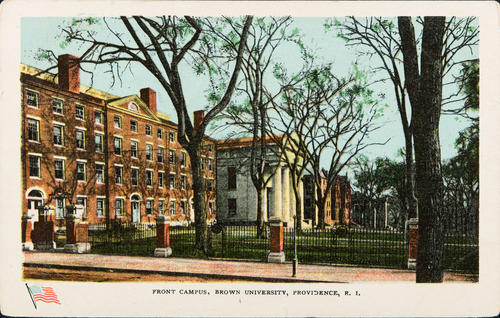 Front Campus, Brown University, Providence, R.I.