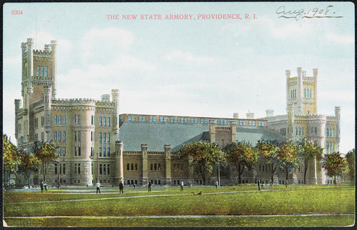 The New State Armory, Providence, R.I.