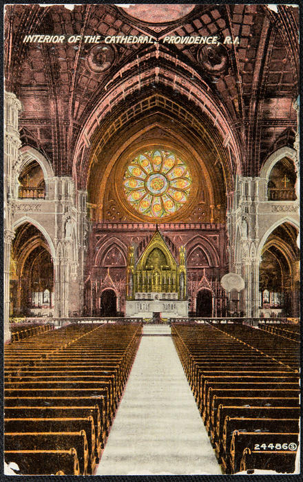 Interior of the Cathedral, Providence, R.I.