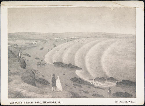 Easton's Beach. 1850. Newport, R.I.