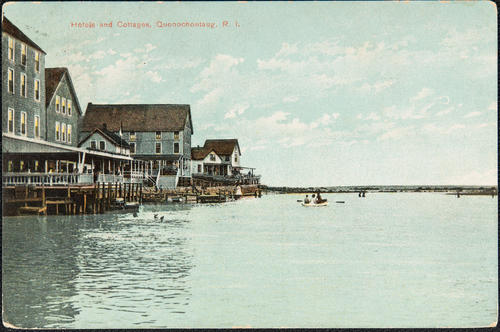 Hotels and cottages, Quonochontaug, R.I.