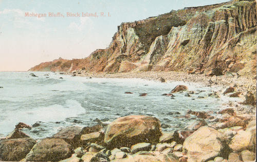 Mohegan Bluffs, Block Island, R.I.