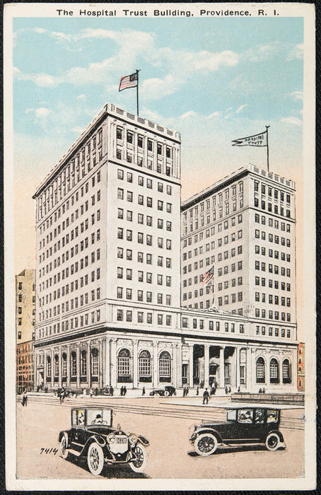 The Hospital Trust Building, Providence, R.I.