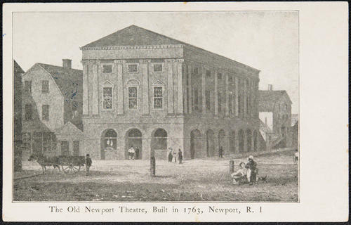 The Old Newport Theatre, builtin in 1763, Newport, R.I.