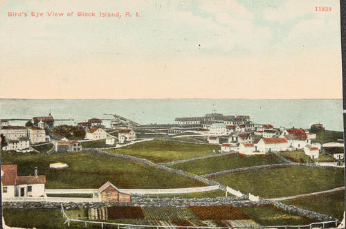 Bird's Eye View of Block Island, R.I.