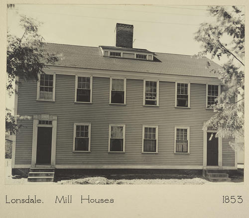 Lonsdale. Mill Houses 1853
