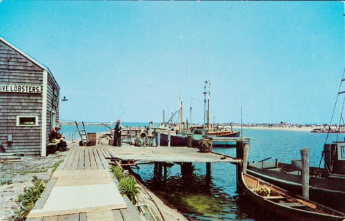 A scene at Old Harbor, Block Island, R.I.