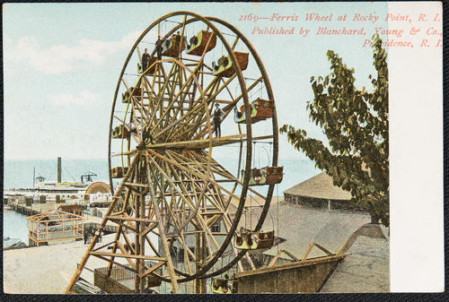 Ferris Wheel at Rocky Point, R.I.