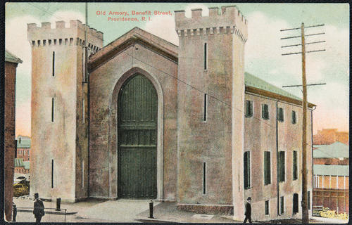 Old Armory, Benefit Street, Providence, R.I.