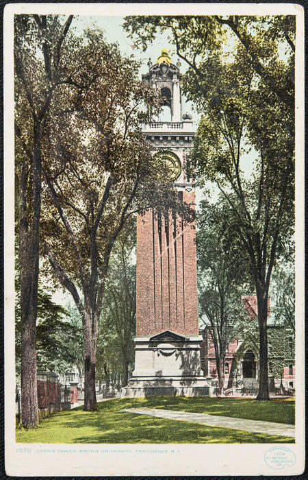 Carrie Tower, Brown University, Providence, R.I.