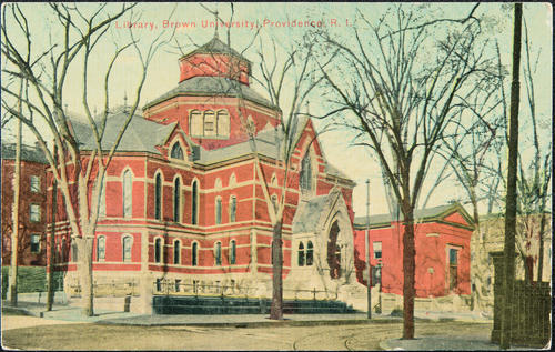 Library, Brown University, Providence, R.I.