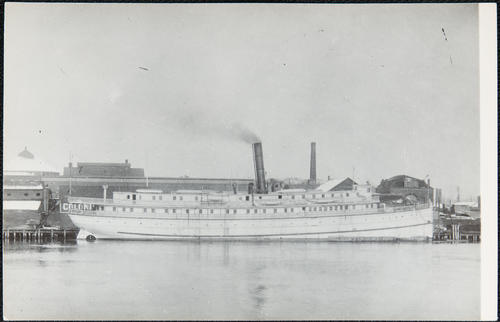 [unidentified steamboat]