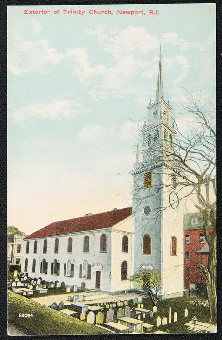 Exterior of Trinity Church, Newport, R.I.