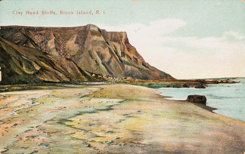 Gay Head Bluffs, Block Island, R.I.