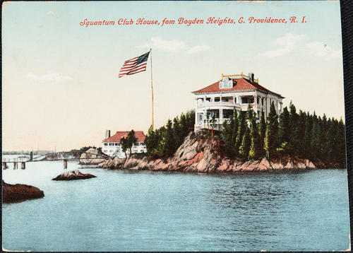 Squantum Club House, from Boyden Heights, E. Providence, R.I.