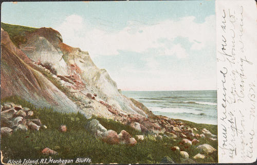 Block Island, R.I. Monhegan Bluffs