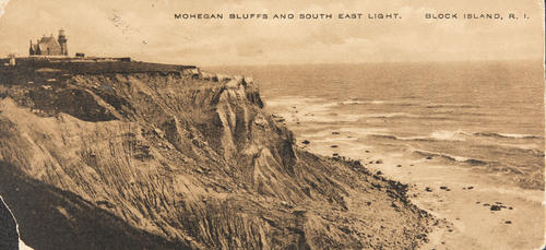 Mohegan Bluffs and South East Light