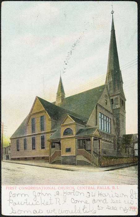 First Congregational Church, Central Falls, R.I.
