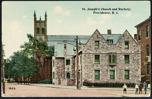 St. Joseph's Church and Rectory, Providence, R.I.