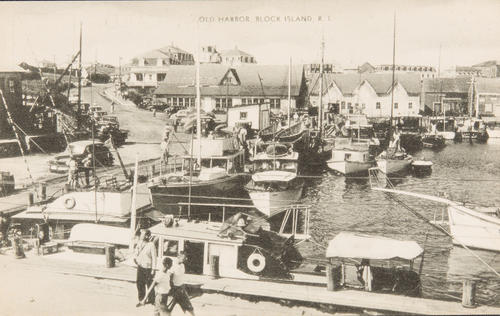 Old Harbor, Block Island, R.I.