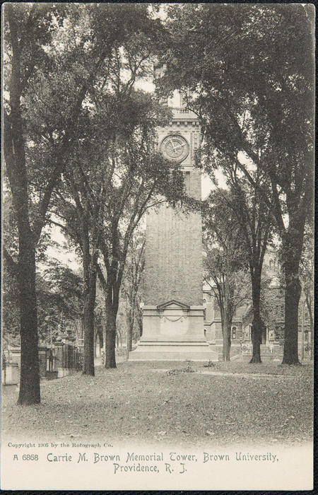 Carrie M. Brown Memorial Tower, Brown University, Providence, R.I.