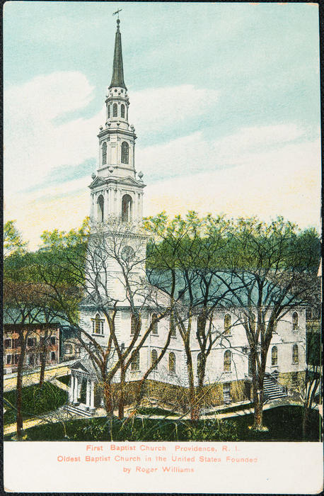 First Baptist Church Providence R.I. Oldest Baptist Church in the United States founded by Roger Williams