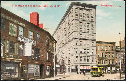 Turks Head and Industrial Trust Building, Providence, R.I.