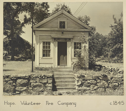 Hope. Volunteer Fire Company c. 1845