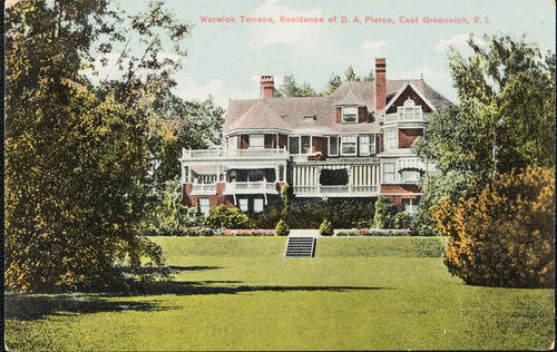Warwick Terrace, Residence of D.A. Pierce, East Greenwich, R.I.